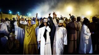 متظاهرون عمانيون