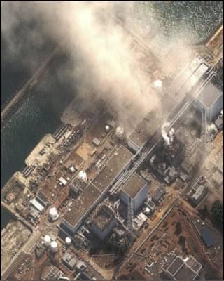 انفجار در نیروگاه اتمی دایچی در فوکوشیما