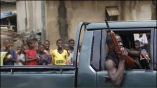 Abidjan fighting