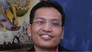 Ulil Abshar Abdalla, tokoh jaringan islam liberal dan sekarang politikus Partai Demokrat