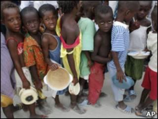 Yaran da rikici ya raba da gidajensu a Ivory Coast
