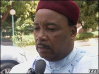Shugaban kasar Nijer Muhammadou Issoufou