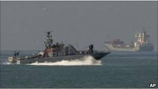 سفينة عسكرية إسرائيلية