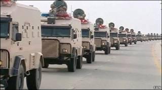 حضور نیروهای عربستان در بحرین