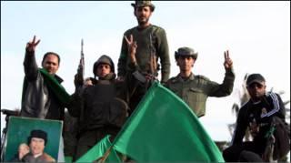 गद्दाफ़ी के सैनिक