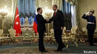 Встреча Дмитрия Медведева с Реджепом Тайипом Эрдоганом