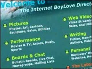 Página  boylover.net