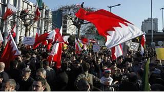 المظاهرات في البحرين