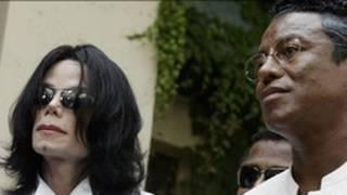 مايكل جاكسون مع شقيقه جيرمين