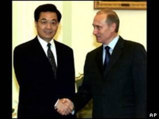 Jintao y Putin