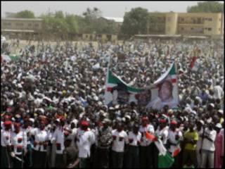 Gangamin zabe a Nigeria