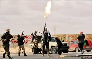 مخالفان در بنغازی