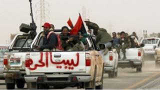 مقاتلون في بنغازي