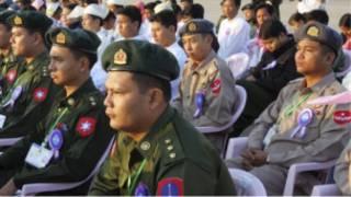 မြန်မာ့တပ်မတော်သားများ
