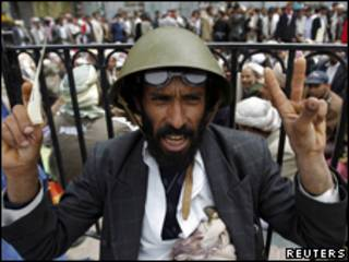 也門首都反政府示威集會(18/03/2011)