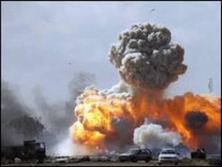 Harin kasashen kawance a Libiya