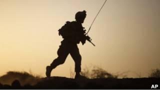 Американский солдат в афганской провинции Гильменд