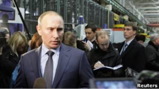 رئيس الوزراء الروسي فلاديمير بوتين