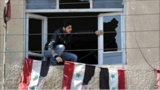 احتجاجات في سورية