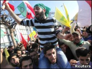 تظاهرات حزب الله علیه حکومت بحرین