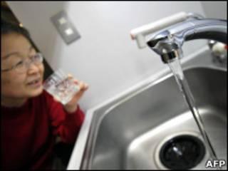 टोक्यो में पीने का पानी