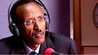 Le président Kagame