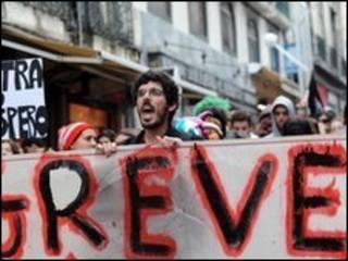 葡萄牙抗議者