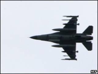 前往利比亞執行禁飛區任務的聯軍戰機(21/03/2011)