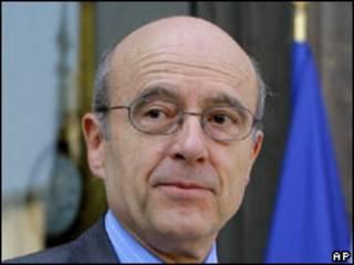 Alain Juppe, Ministan waje na Faransa