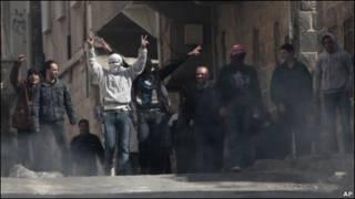 تظاهرات ضد دولتی در درعا، سوریه
