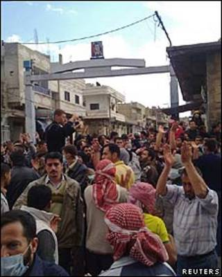Daraa, terça-feira/Reuters
