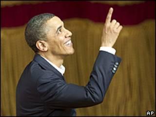 Presidente Barack Obama no Teatro Municipal do Rio de Janeiro (arquivo/AP)