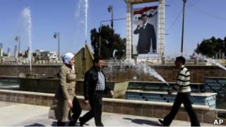 بوستر لبشار الأسد