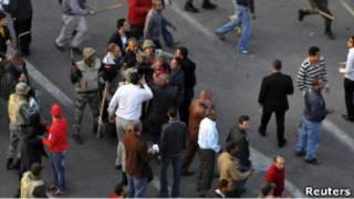 مواجهات في ميدان التحرير