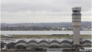 برج مراقبت فرودگاه ریگان واشنگتن