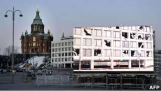 Proyección de la película más larga de la historia en Finlandia.