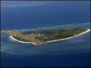 菲律賓在帕加薩島上的設施