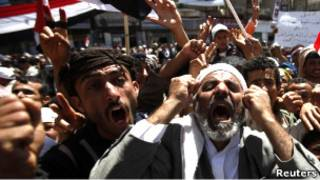 Митинг противников президента Салеха