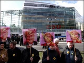 德國反核示威者