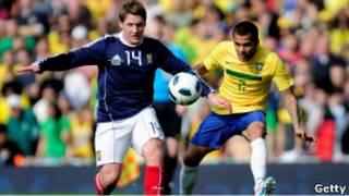 Шотландия-Бразилия