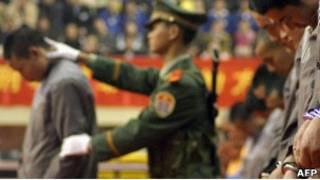 Приговоренные к смертной казни в Китае