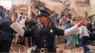 صحنه بمبگذاری سال ۱۹۹۴ آرژانتین