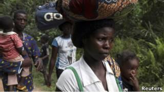 'Yan gudun hijirar Liberia