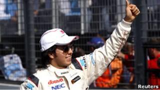 Sergio Pérez, piloto de Fórmula 1 mexicano.