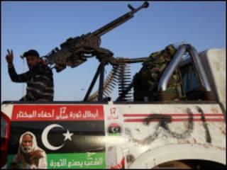 مخالفان مسلح قذافی