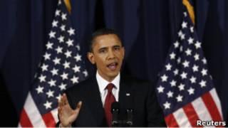 الرئيس باراك أوباما (29/03/11)