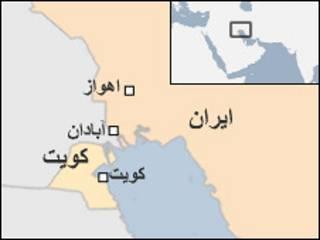 نقشه کویت