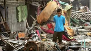 Ачех после цунами