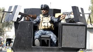 شرطي عراقي