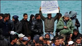 مهاجرون من شمال أفريقيا
